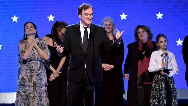 Resultado de imagen para critics choice awards 2020 quentin