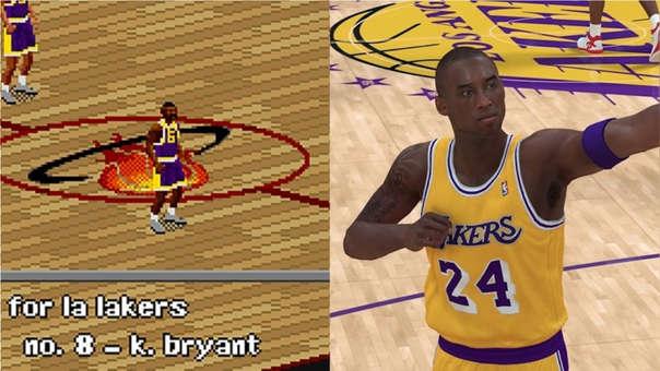 Kobe Bryant videojuegos