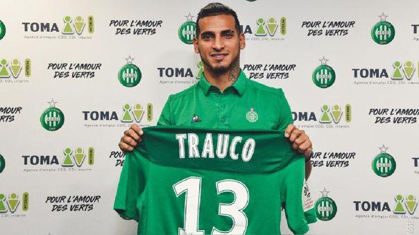 Miguel Trauco fichó por Saint Étienne hasta el 2022