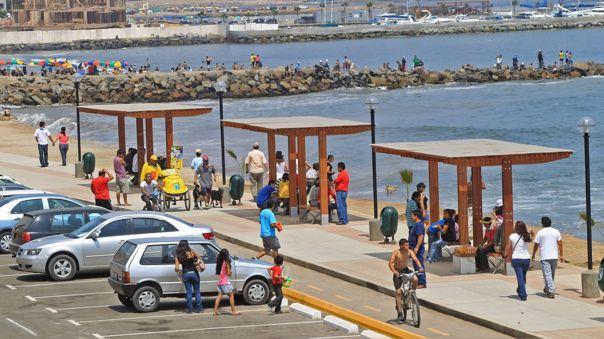 Este miércoles se realizará un balance sobre el control de acceso a las playas de la Costa Verde.