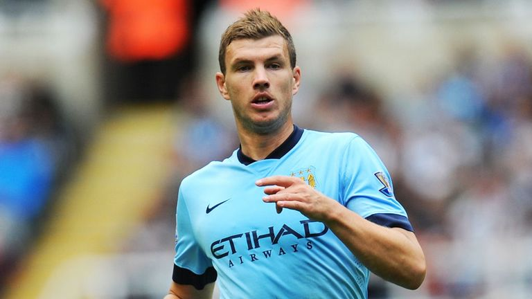 Edin Dzeko: Manchester City will be counting on the Bosnian in Sergio Aguero's absence