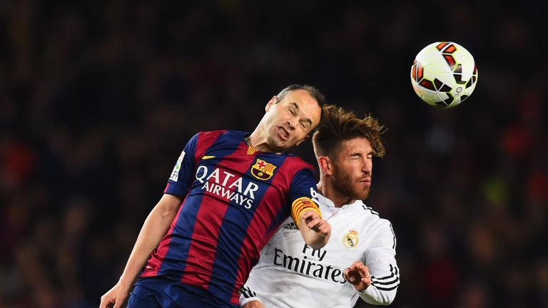Image result for iniesta and ramos picture