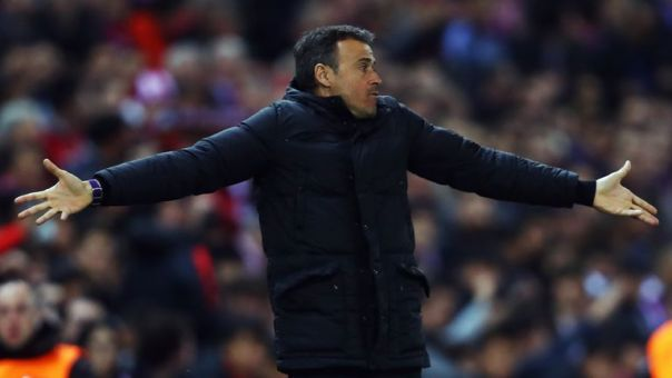 Luis Enrique took full responsibility for Barcelona's Champions League defeat