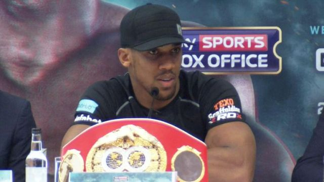 Joshua has no plans on losing his 'bad boy' title just yet