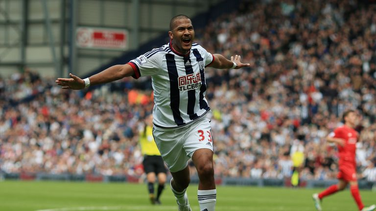The Venezuelan, Rondon, scored against the Reds at the Hawthorns last season (Sky Sports)