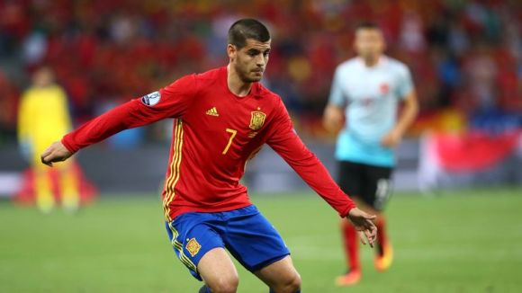 Alvaro Morata scored three times for Spain at Euro 2016