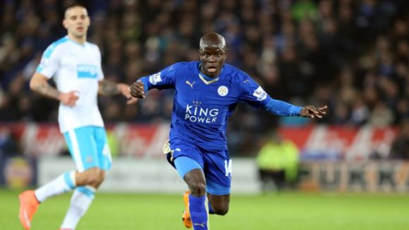N'Golo Kante has swapped Leicester City for Chelsea
