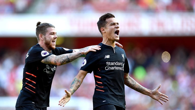 Coutinho has scored 35 goals in 163 appearances for Liverpool