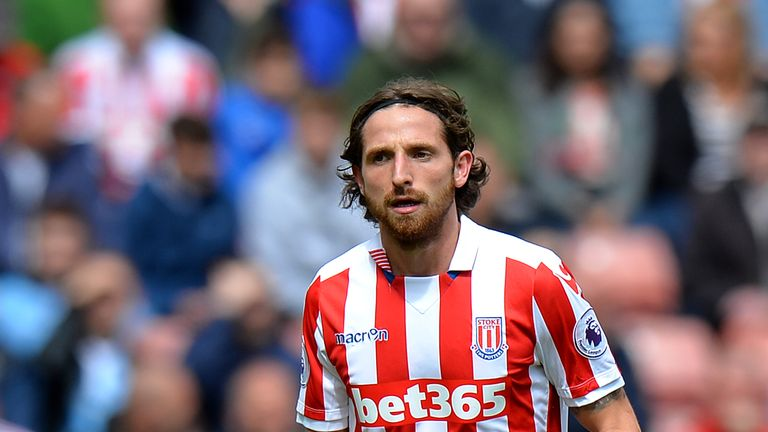 Joe Allen, Stoke's top scorer, returns to Anfield on Tuesday.