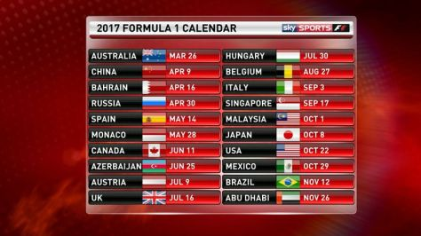 f1 new car releaseF1 in 2017 Car launch dates for Formula 1s new era  SPORTVIBZ