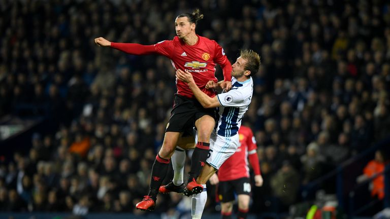 Ibrahimovic has 18 goals for United this season