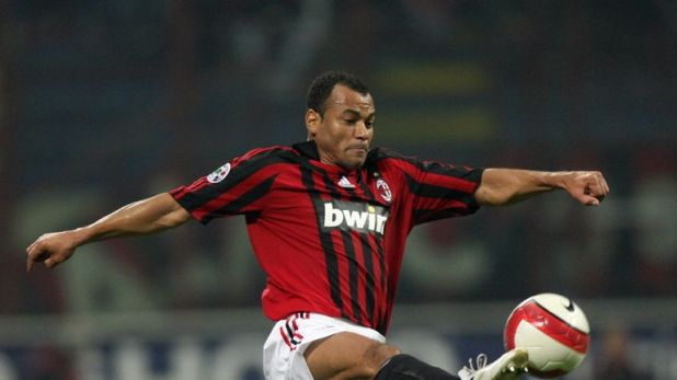 Former AC Milan defender Cafu won two World Cups with Brazil