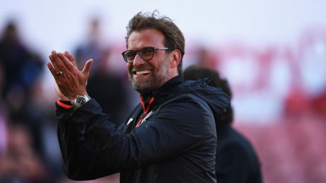 Jurgen Klopp was thrilled with Liverpool's fourth-placed Premier League finish