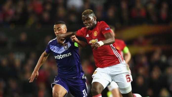 Tielemans in action against Manchester United