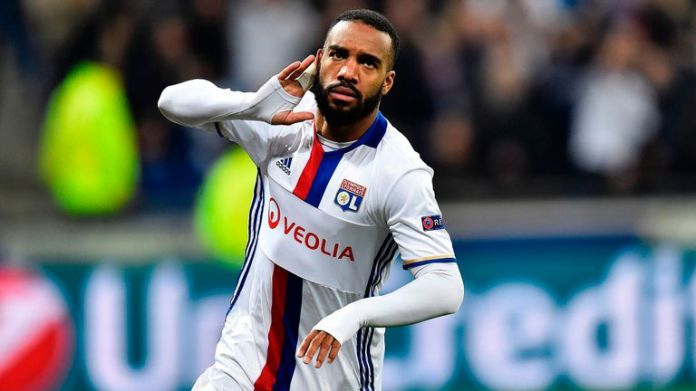 Alexandre Lacazette's transfer to Arsenal is set to be completed in the next