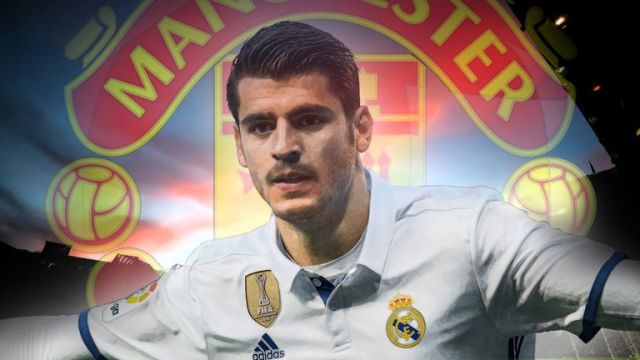 Image result for Alvaro Morata Man United