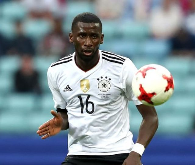 Antonio Rudiger Won The Confederations Cup With Germany