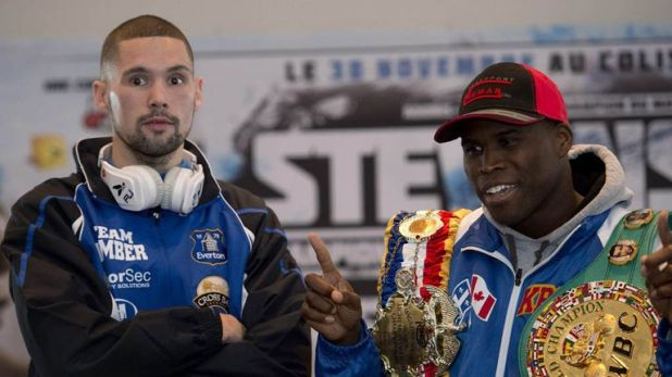 Tony Bellew impressed Adonis Stevenson when they met at light-heavyweight