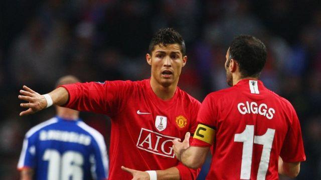 Ronaldo left Manchester United for Madrid in 2009