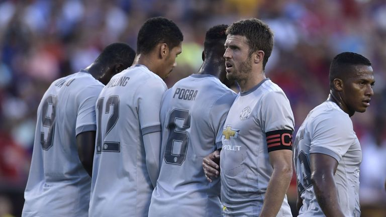 Michael Carrick has been ruled out of Saturday's game with Crystal Palace