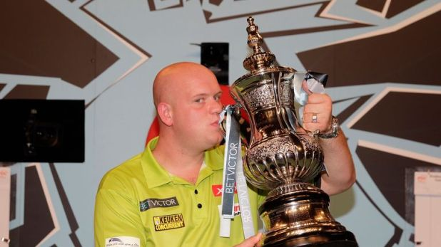Van Gerwen won back-to-back Matchplay titles in 2015 and 2016