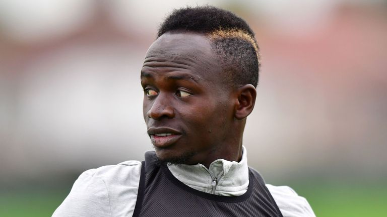 Sadio Mane made his return to full Liverpool training on Thursday