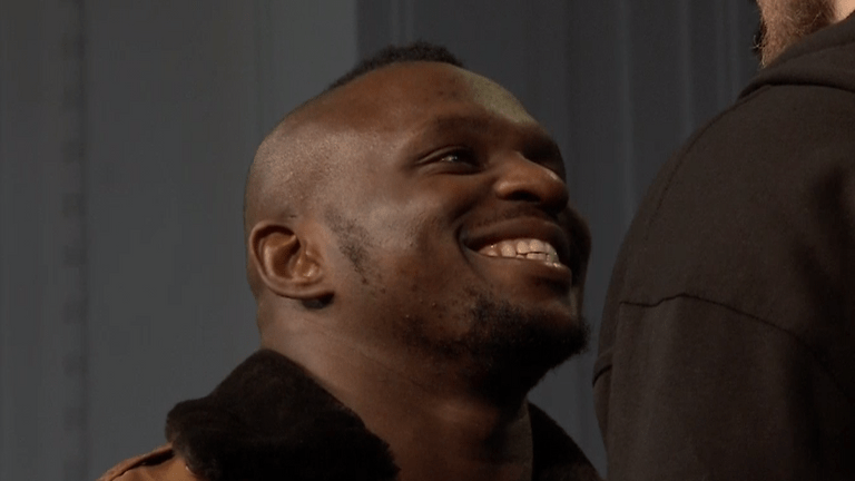 Whyte is keen to have a shot at Wilder