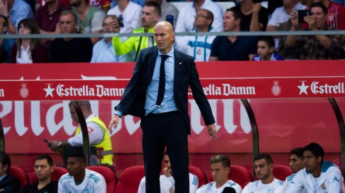 Zinedine Zidane is not to blame for Real Madrid's slump in form, according to an online poll