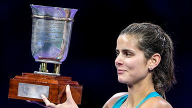 Germany's Julia Goerges won the Kremlin Cup
