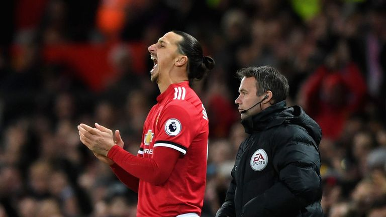 Image result for Zlatan Ibrahimovic says 'lions don't recover like humans' after Man Utd return