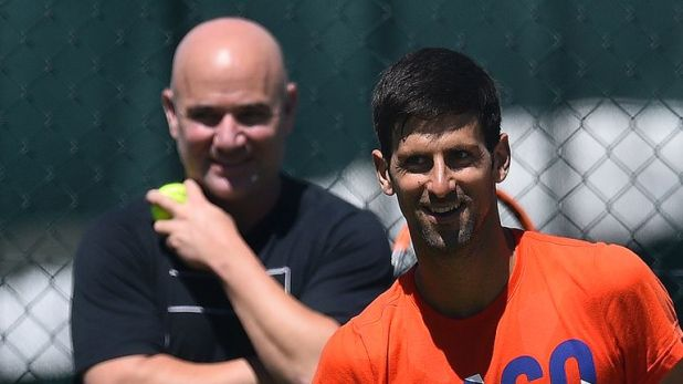 Djokovic split with Andre Agassi after less than a year together