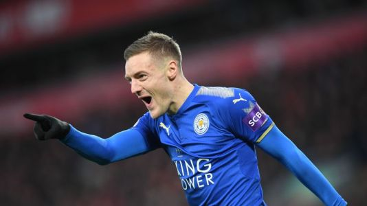 Jamie Vardy is available again for Leicester City