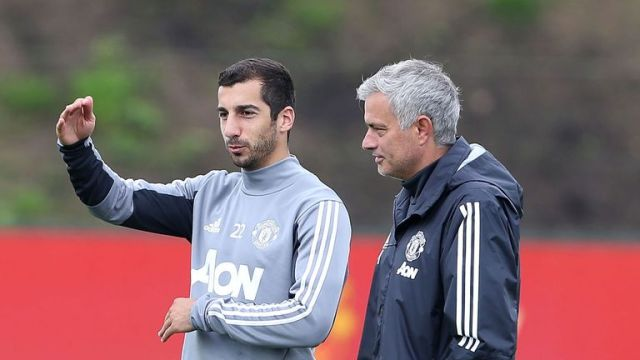 Mkhitaryan says Jose Mourinho's United sides were not always attacking