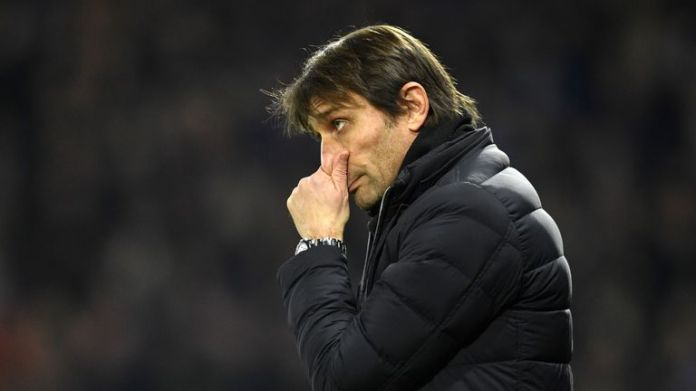 Conte is under pressure after a run of poor results