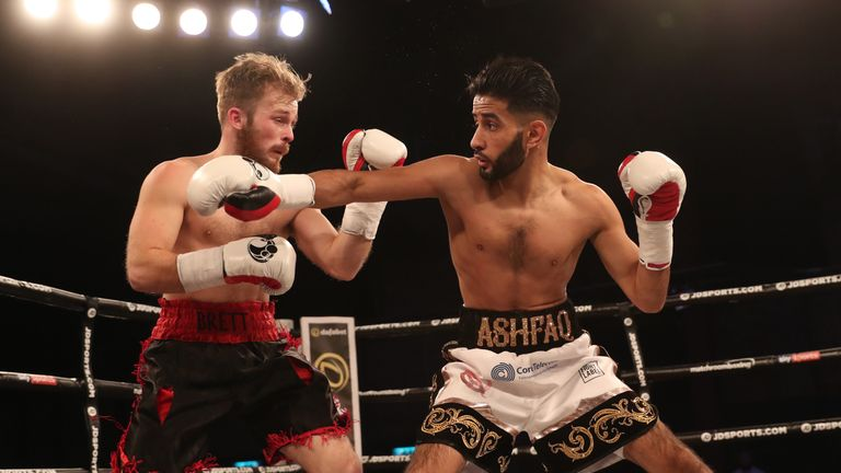 Ashfaq Displayed His Accuracy Over The Six Rounds
