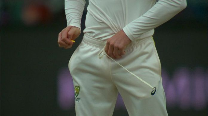 Cameron Bancroft used sandpaper to tamper with the ball during the third test with South Africa