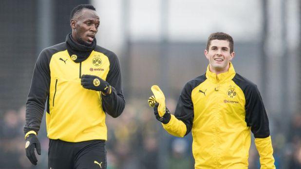 Bolt has trained with Borussia Dortmund, Stromsgodset and Mamelodi Sundowns