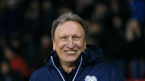 Cardiff City manager Neil Warnock watched his side breeze past Taffs Well