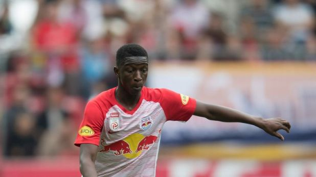 Amadou Haidara has scored 10 goals in 62 appearances for Red Bull Salzburg