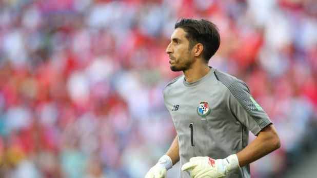 Jaime Penedo caught the eye with his performance against Belgium