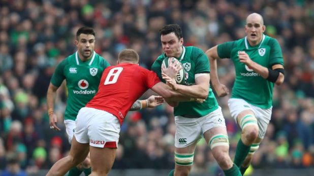 Ireland's James Ryan is yet to taste defeat in his professional career