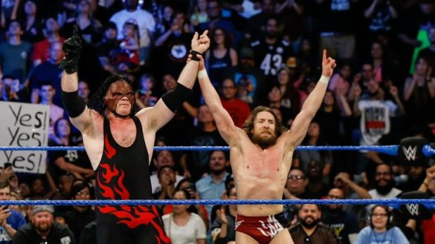 Kane's most recent run in WWE came alongside Daniel Bryan in a Team Hell No reunion