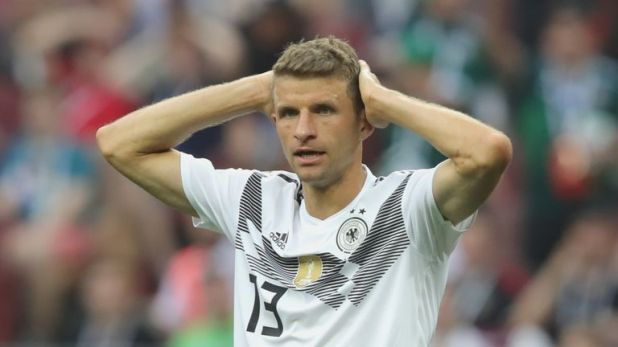 Holders Germany lost their World Cup opener to Mexico on Sunday