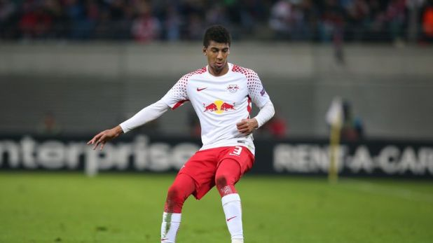 The Brazilian joins from German club RB Leipzig