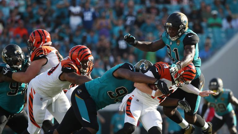 The Jaguars reached the AFC Championship last season behind their tremendous defense
