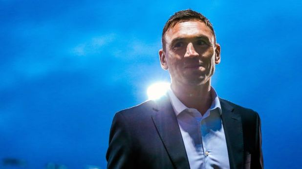 Leeds' Director of Rugby Kevin Sinfield claimed his first win in charge