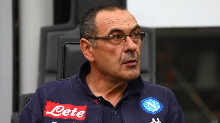 Maurizio Sarri will meet the media for the first time as Chelsea manager