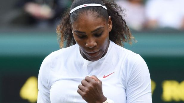 Serena Williams was the runner-up at Wimbledon in July