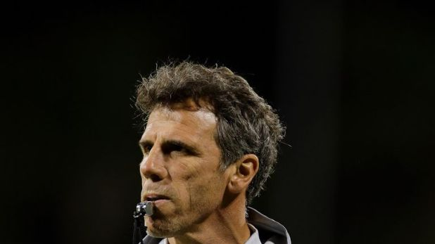 Gianfranco Zola played nearly 300 games for Chelsea