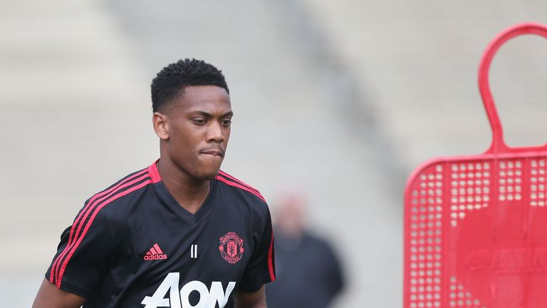 Anthony Martial has fallen out of favour with Jose Mourinho